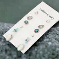 Set earrings 6 pieces