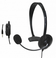 Wired Headset games PS4 with mic and volume control