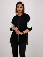 TwoMail Jacket with short Sleeves for women