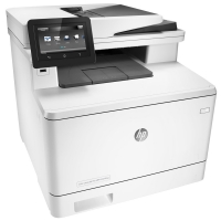 Printer HP M477 FDW With Warranty Card