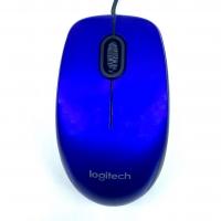 Logitech M100R Wireless Mouse Blue
