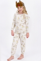 Pajamas for children from 2 to 8 years