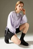 DeFacto Purple Sweatshirt