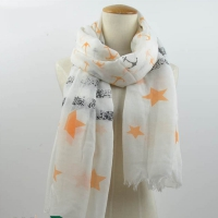Shawl Women's contains a engraving stars
