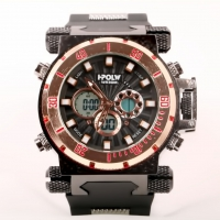 HPOLW quartz Digital waterproof Men's watch