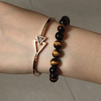 Bracelets stainless steel One piece