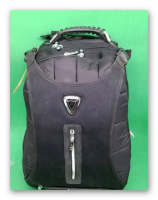 The bag is a very good type 21 zipper and pocket