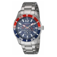 Nautica A15653G   Quartz Watch For Men With Stainless Steel Strap  Silver
