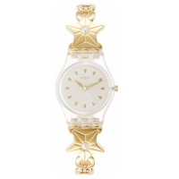 Swatch 2017: Etoile De Mer Ladies Stainless Steel Band Watch Lk366G