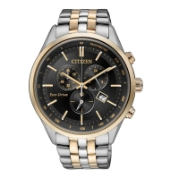 Citizen Eco-Drive Analog Black Dial Men s Watch - AT2144-54E