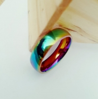 A multicolored men s ring