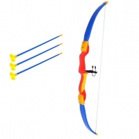 Plastic shooting game and arrow shooting simulation for children