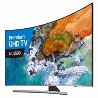 55-Inch Curved LED 4K UHD TV