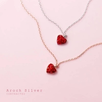 925 Sterling Silver Necklace - Heart