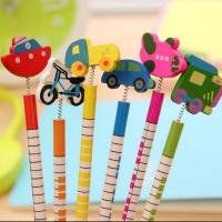 Set Pencils cars 6 pieces