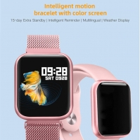 P80 smart watch with waterproof touch screen for Iphone