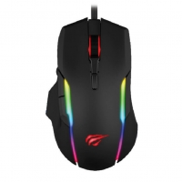 HAVIT GAMENOTE MS1012A RGB Backlit Programmable Software Gaming Mouse 7 Buttons from Game Stop