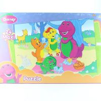 Barney Puzzle 3+