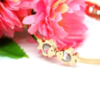Bracelets stainless steel fish One piece