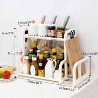 Basket of kitchen tools 51.2   26.2   38.2 cm