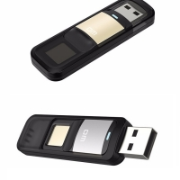 DM PD061 32GB High-speed Recognition Fingerprint Encrypted Pen Drive Security Memory USB Stick