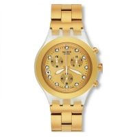 SWATCH FULL-BLOODED GOLD CHRONOGRAPH WATCH SVCK4032G