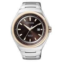 Citizen Analog Brown Dial Men s Titanium Watch