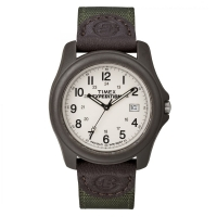 Timex Unisex T49101 Expedition Camper Brown Resin Case Watch