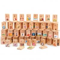 Domino Baby Wood 100 pieces