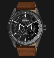 Citizen BU4028-18E Eco-Drive 42mm Leather Strap Men s Watch