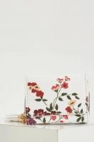 Women's floral embossed wallet