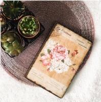 Velvet notebook