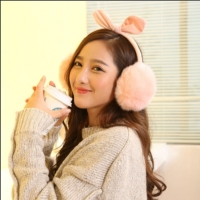 Earphones Women's Fur Bluetooth 10 bt