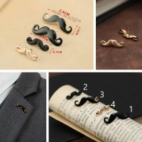 Pin Mens Jacket - Mustache