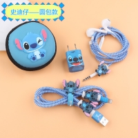 Stiker protect the charger and headphones 6 pcs Stitch