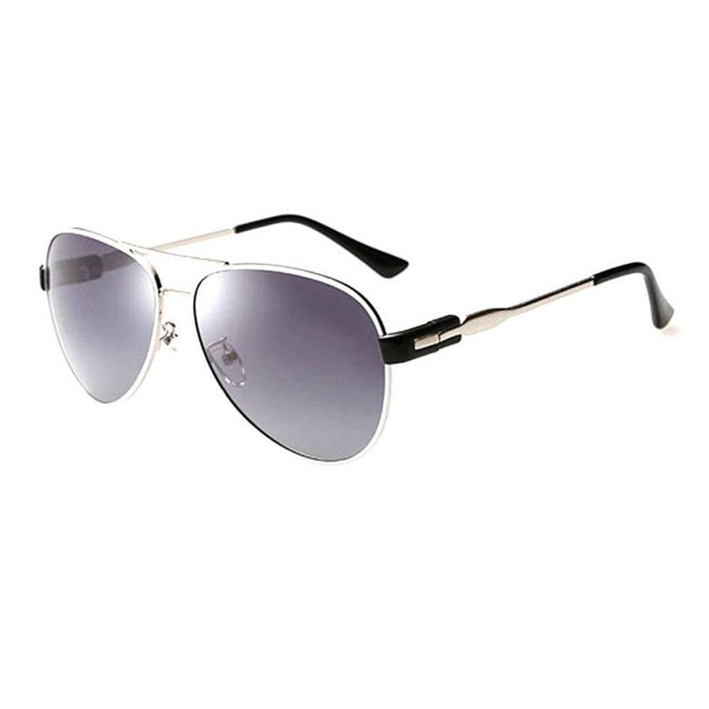 7b284b73c نظارات JL الشمسيه بستايل بيضوي للنساء (اسود)