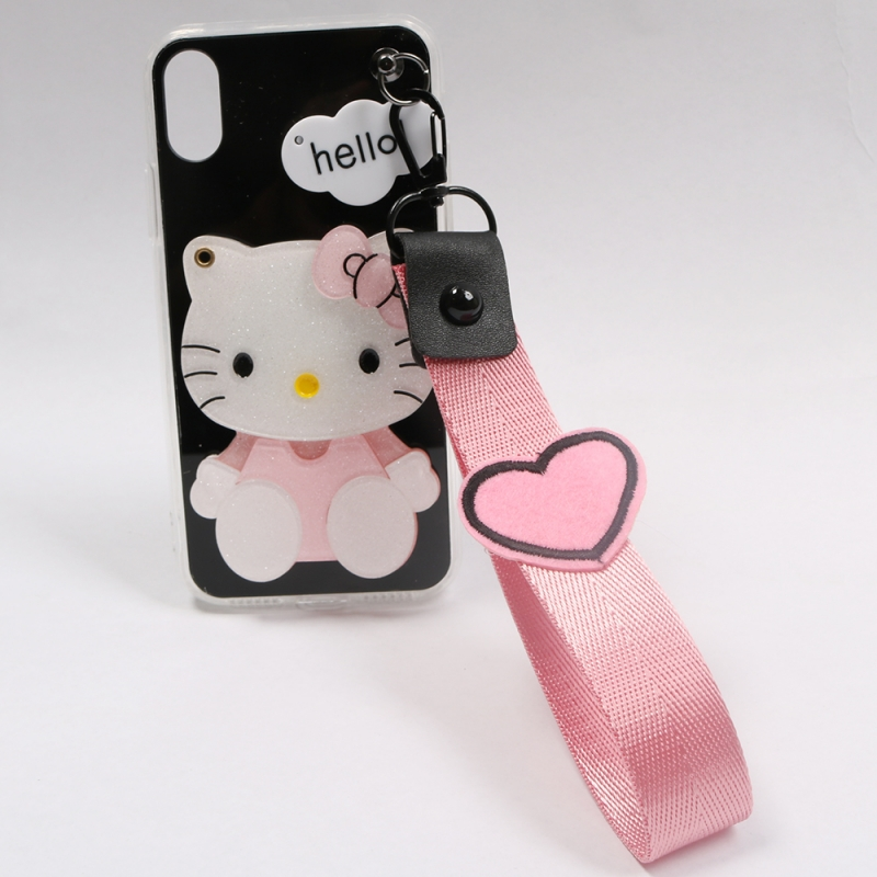 Cover Plastic Distinctive Phone With A Mirror Details